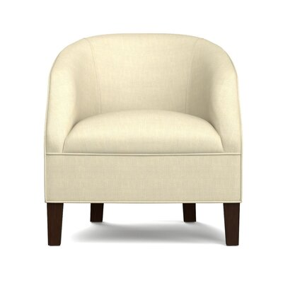 Mouros Barrel Chair Upholstery: Creamy Tan