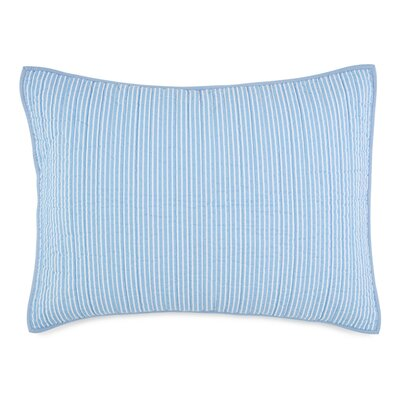 Southern Tide Sail Stripe Sham Size: King