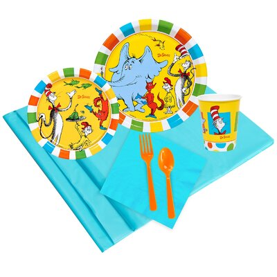 Dr. Seuss Favourites 8 Guest Party Pack 256469