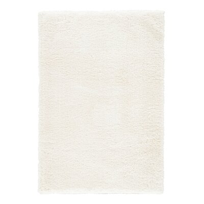 Medlock White Alyssum Area Rug Rug Size: Rectangle 4 x 6