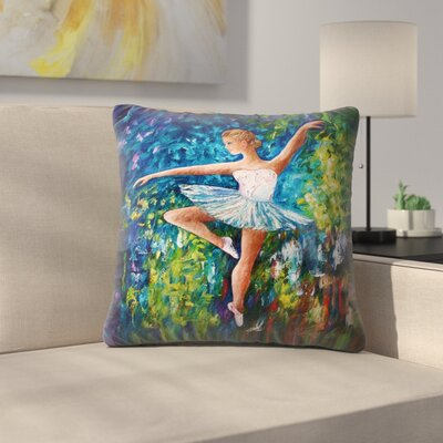 Olena Art Celebrating Spring Throw Pillow Size: 16 x 16