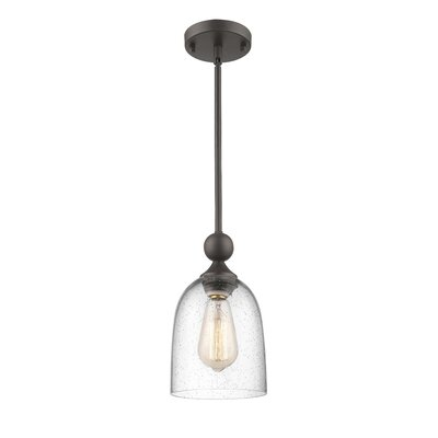 Efird 1-Light Mini Pendant Finish: Painted Bronze