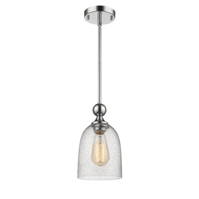 Efird 1-Light Mini Pendant Finish: Chrome