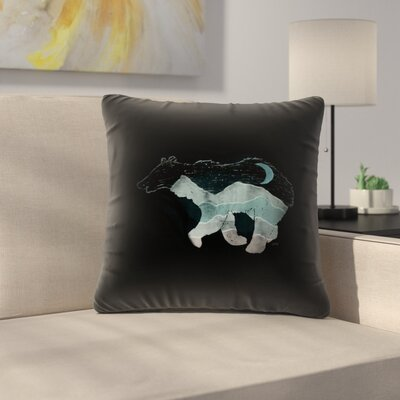 Ursa Major Throw Pillow Size: 18 x 18