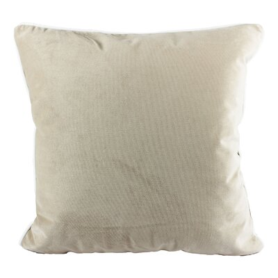 Norris Plush Velvet Pillow Cover Color: Sand