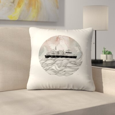 Almost Home Throw Pillow Size: 16 x 16