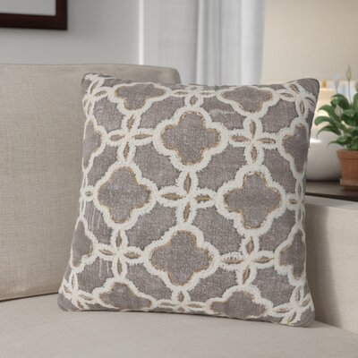 Wiebe Arabesque 100% Cotton Throw Pillow