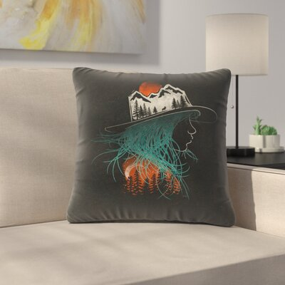 Aurora Throw Pillow Size: 14 x 14