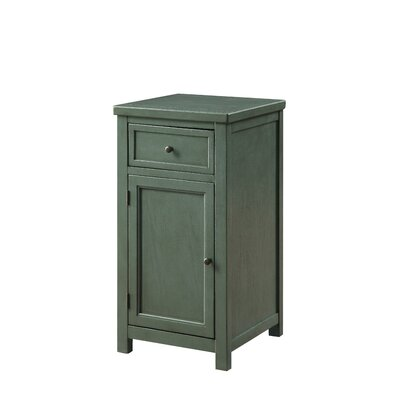 Berryman End Table Color: Antique Teal