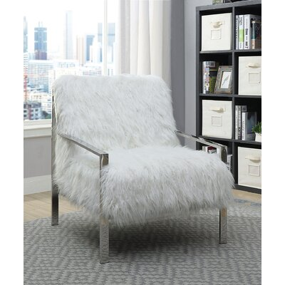 Laverton Armchair Upholstery: White