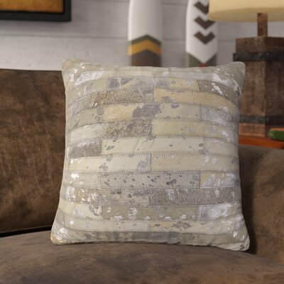 Linhart Leather Throw Pillow