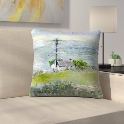 Ireland Throw Pillow Size: 20 x 20