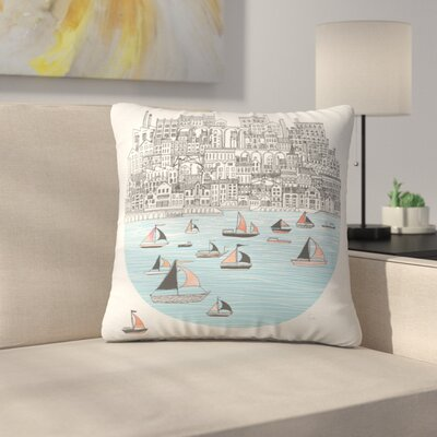 Joppa Throw Pillow Size: 14 x 14