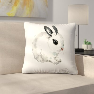 Bunny 6 Throw Pillow Size: 14