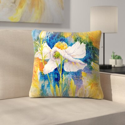 Sunshine Taylor Matilija Magic Indoor/Outdoor Throw Pillow Size: 20 x 20