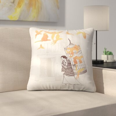 Frida Throw Pillow Size: 14 x 14