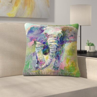 Elephant1 Throw Pillow Size: 14 x 14