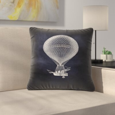 Atlantic Balloon Throw Pillow Size: 18 x 18