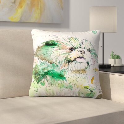 Shih Tzu Throw Pillow Size: 16 x 16