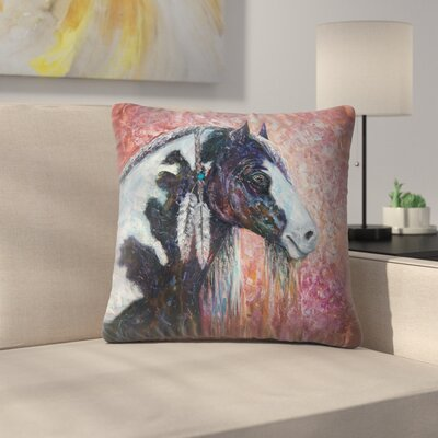 Olena Art Prairie Spirit Throw Pillow Size: 20 x 20