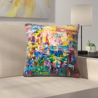 Olena Art World Throw Pillow Size: 16 x 16