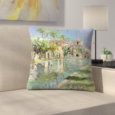 Balbopark Throw Pillow Size: 16 x 16