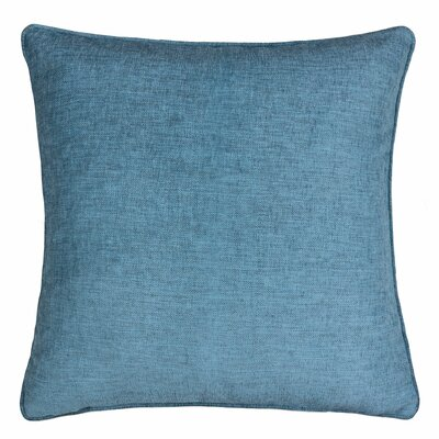 Gains Homey Cozy Cotton Pillow Cover Color: Blue