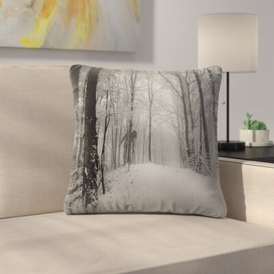Lonely Throw Pillow Size: 16