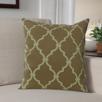 Reuter Trellis Throw Pillow Size: 20 H x 20 W, Color: Sage