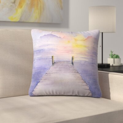 Sundown Throw Pillow Size: 18 x 18