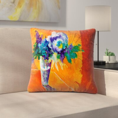 Sunshine Taylor Center Stage Indoor/Outdoor Throw Pillow Size: 14 x 14