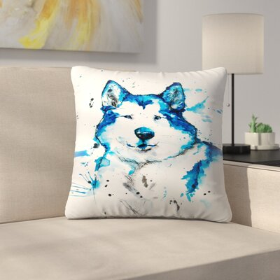 Husky Throw Pillow Size: 20 x 20