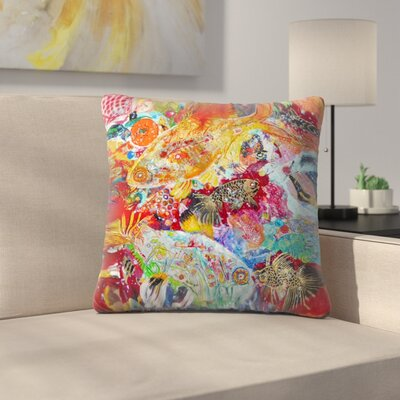 Sunshine Taylor X Ray Tetra Indoor/Outdoor Throw Pillow Size: 14 x 14