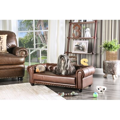 Beverly Chesterfield Dog Sofa