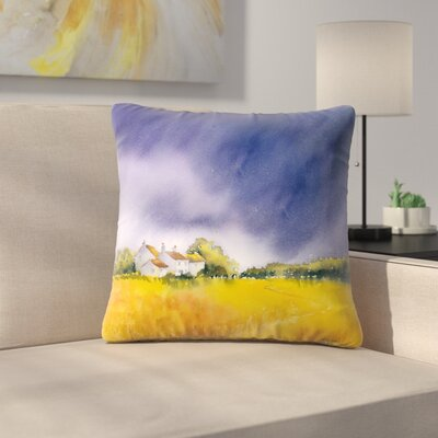 Storm Throw Pillow Size: 16 x 16