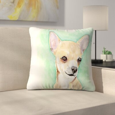 Chihuahua Throw Pillow Size: 20 x 20