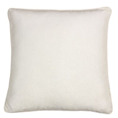 Gains Homey Cozy Cotton Pillow Cover Color: Ivory