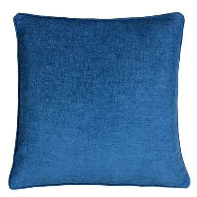 Gains Homey Cozy Cotton Pillow Cover Color: Navy