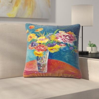 Sunshine Taylor Flores De Fiesta Indoor/Outdoor Throw Pillow Size: 20 x 20
