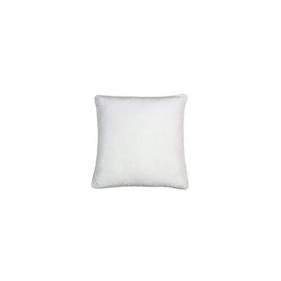 Gains Homey Cozy Cotton Pillow Cover Color: White