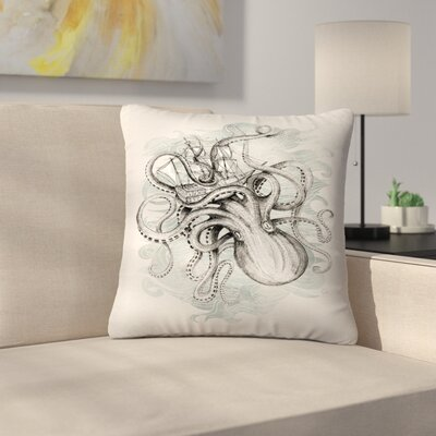 The Baltic Sea Throw Pillow Size: 18