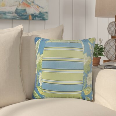 Rutland Floral Indoor/Outdoor Throw Pillow Size: 22 x 22