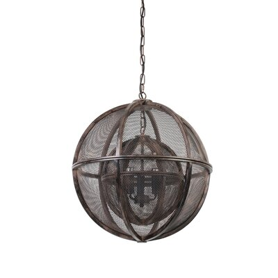Glidewell 1-Light Globe Pendant