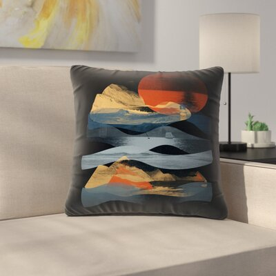Descend Throw Pillow Size: 16 x 16