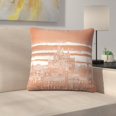 Jupiter Throw Pillow Size: 14 x 14