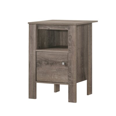 Haledon End Table Color: Taupe