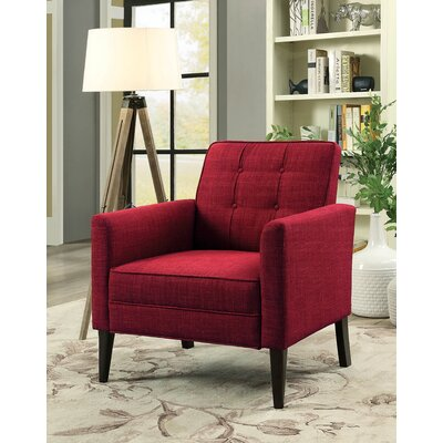 Durst Armchair Upholstery: Red