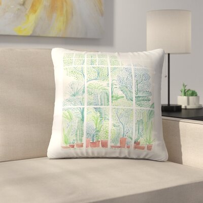 Winter in Glasshouses 1 Throw Pillow Size: 20 x 20