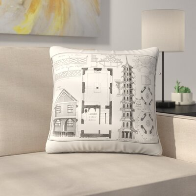 Plan Delapagode Throw Pillow Size: 20 x 20