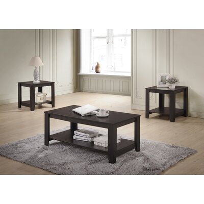 Halbert 3 Piece Coffee Table Set